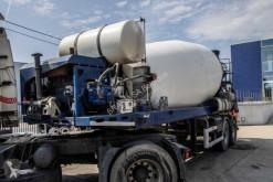 Semitrailer betong blandare BETON MIXER 12m³ + Hulpmotor/Moteur aux.