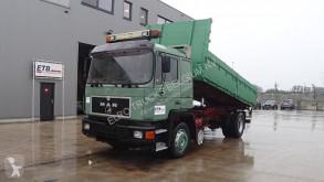 Camión MAN 19.422 (MANUAL PUMP / / STEEL SUSPENSION / 6 CYLINDER / ZF-GEARBOX) volquete usado
