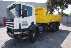 Camion Scania 114-340 / TIPPER / HUB REDUCTION / FULL STEEL / / 1999 benne accidenté