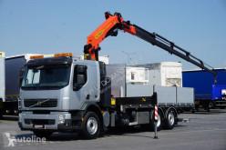 Camião Palfinger VOLVO FE / E 5 / SKRZYNIOWY + HDS PK 23002SH / PILOT / WYSIĘ estrado / caixa aberta usado