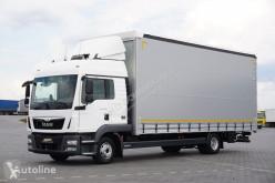 Ciężarówka MAN TGL / 12.250 / ACC / EURO 6 / FIRANKA / 18 PALET / MAŁY PRZEBIEG firanka używana