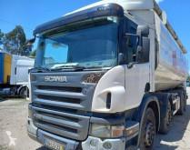 Teherautó Scania P 400 használt élelmiszerszállító/büfékocsi tartálykocsi