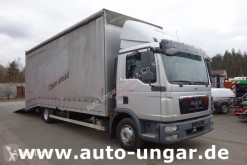 Camion MAN TGL 12.220 geschlossener Fahrzeugtransporter Maschinentransporter EU porte voitures occasion
