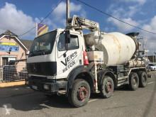 Camion betoniera cu malaxor si pompa Mercedes SK 3234