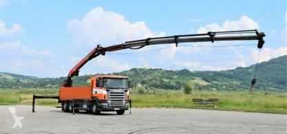 Camión Scania R400 Pritsche 6,80m + PK 2500 1 EL + FUNK ! caja abierta usado