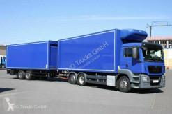 MAN refrigerated trailer truck TGS 26.400 TGS 6X2 Kühlkofferzug Schmitz Thermo-King
