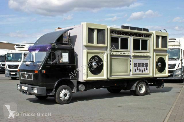 Vedere le foto Camion MAN 8.150 8.150 FL  *Ghettoblaster*  auch zu vermieten !