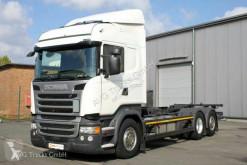 Caminhões Scania R R 450 6X2 BDF Retarder LDW ACC 2x AHK chassis usado