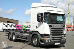Camión chasis Scania R R 450 6X2 BDF Retarder LDW ACC 2x AHK