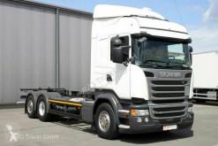 Ciężarówka podwozie Scania R R 450 6X2 BDF Retarder LDW ACC 2x AHK