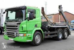Caminhões Scania P P 410 6X2*4 Meiller AK16 MT Funk Lenkachse multi-basculante usado