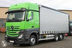 Camión lonas deslizantes (PLFD) Mercedes Actros 2545 L GigaSpace Schiebeplane Lenkachse LBW AHK