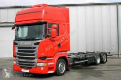 Camion Scania R R 410 6X2 BDF Jumbo Topline Standklima Retarder châssis occasion