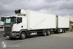 Автопоезд холодильник Scania G G 410 Kühlkoffer-Durchladezug Lenkachse 2 x LBW