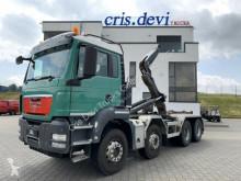 Kamion MAN TGS TGS 35.480 8x4 Multilift 26T | Intarder AHK vícečetná korba použitý