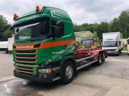 Camion polybenne Scania G G490,Euro6,Abroller-und Silo