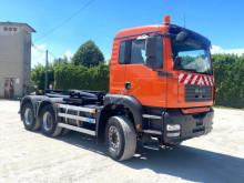 Camion polybenne MAN TGA 33.360 SCARRABILE BALESTRATO ANTERIORE E P