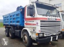Teherautó Scania 143 használt hátra és két oldalra billenő kocsi