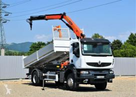 Camião estrado / caixa aberta Renault KERAX 380 DXI KIPPER 5,20m * PK 12000 !