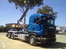 Caminhões Scania poli-basculante usado