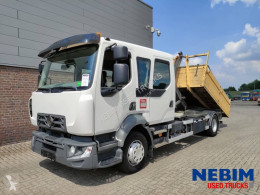 Camion polybenne Renault D2.1 210 Crew Cab - HOOKLIFT 7 T