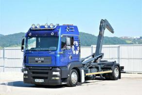 Camión multivolquete MAN TGA 18.430 Abrollkipper 5,40m * Top Zustand!