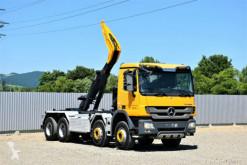 Mercedes ACTROS 3241 Abrollkipper 6,20m *8x4*Top Zustand! portacontenedor de cadenas usado
