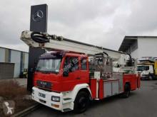 Camion pompiers MAN 18.280 F Feuerwehr Teleskopmast WUMAG WTF 320