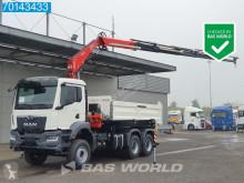 Teherautó MAN TGS 33.430 új hátra és két oldalra billenő kocsi