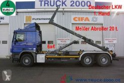 Camion polybenne Mercedes Actros Actros 2644 6x4 Meiller RK 20.67 20 to. 1.Hand