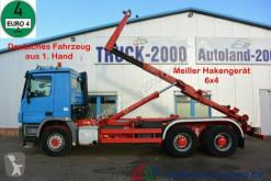 Camión Mercedes Actros 2746 Actros 6x4 Meiller 1.Hand Deutscher LKW BC Gancho portacontenedor usado