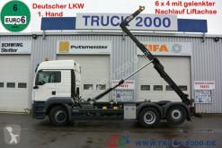 Kamión MAN TGS TGS 26.440 6x4 (H) 1.Hd Scheckheft Deutsches Fzg hákový nosič kontajnerov ojazdený
