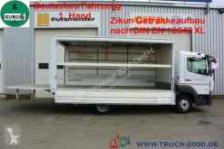 Ciężarówka Mercedes Atego Atego 816 Automatikrollo LBW 1.5 t DIN EN12642XL furgon do transportu napojów używana