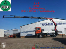 Camion MAN TGM TGM 13.290 4x4 Kran+ Winde+ FB+ Singlebereifung plateau ridelles occasion