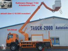 Ciężarówka zwyżka przegubowa teleskopowa MAN 10.163 4x4 Ruthmann 20m seitl.13m 1000V Isoliert