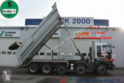 Kamión Renault Kerax Kerax 520 DXI 10x4 Meiller 1.Hand Halfpipe Stahl korba ojazdený