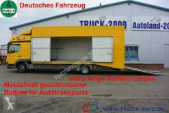 Caminhões Mercedes Atego Atego 822 geschlossen Extralange Rampen HU 11/21 porta carros usado