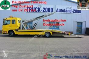 Грузовик автовоз Mercedes Atego Atego 1222 Hartmann Doppelstock 2 PKW 67.267 km