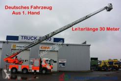 Camião bombeiros Mercedes 1628 Feuerwehr Leiter 30 m R.-Korb Steigleitung