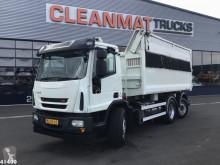 Ginaf tipper truck C 3128 CNG Vossebelt 22m3