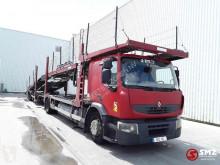 Camión remolque Renault Premium portacoches usado