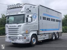 Camión remolque ganadero para ganado bovino Scania R 580