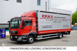 Kamión valník s bočnicami a plachtou MAN TGM TGM 15.290 L-Haus Pritsche 7,2m LBW Klima TOP E6