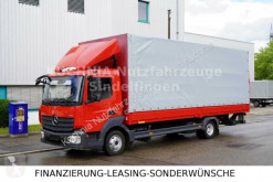 Camion savoyarde Mercedes Atego Atego 818L Pritsche 7,22m LBW Klima Euro-6
