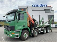Camion multibenne Mercedes Actros 3240 8x4 Absetzkipper + Palfinger 29002 Seilwind