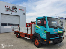 Camion Mercedes 814 , Full Steel, Manual Pumpe, 6 cylinders plateau occasion