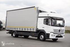 Camión lonas deslizantes (PLFD) MERCEDES-BENZ ATEGO / 1224 / ACC / EURO 6 / FIRANKA + WINDA / MAŁY PRZEBIEG