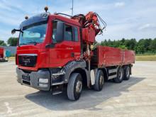 Camión MAN TGS 35.440 / Pritsche / Kran MKG HLK / Seilwinde / caja abierta teleros usado
