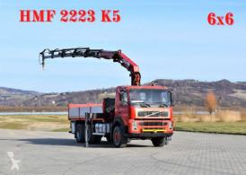 Camion plateau Volvo FM 12 380 Pritsche 5,20m + HMF 2223 K5+FUNK/6x6