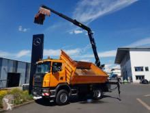 Camion tri-benne Scania G G 360 CB 4x4 Kipper/Kran/Greifer Hochsitz